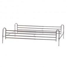 Πτυσσόμενα κάγκελα για διπλό οικιακό κρεβάτι