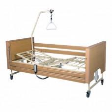 Νοσοκομειακό κρεβάτι ηλεκτρικό με μεταλλικό σομιέ Prisma 4