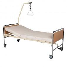 Νοσοκομειακό κρεβάτι χειροκίνητο KN 200.1 econ chromium