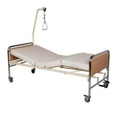 Νοσοκομειακό κρεβάτι χειροκίνητο πολύσπαστο KN 200.3 econ chromium