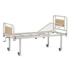 Νοσοκομειακό κρεβάτι χειροκίνητο μονόσπαστο με ρόδες V-93R