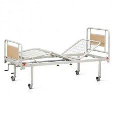 Νοσοκομειακό κρεβάτι χειροκίνητο πολύσπαστο με ρόδες V-94R